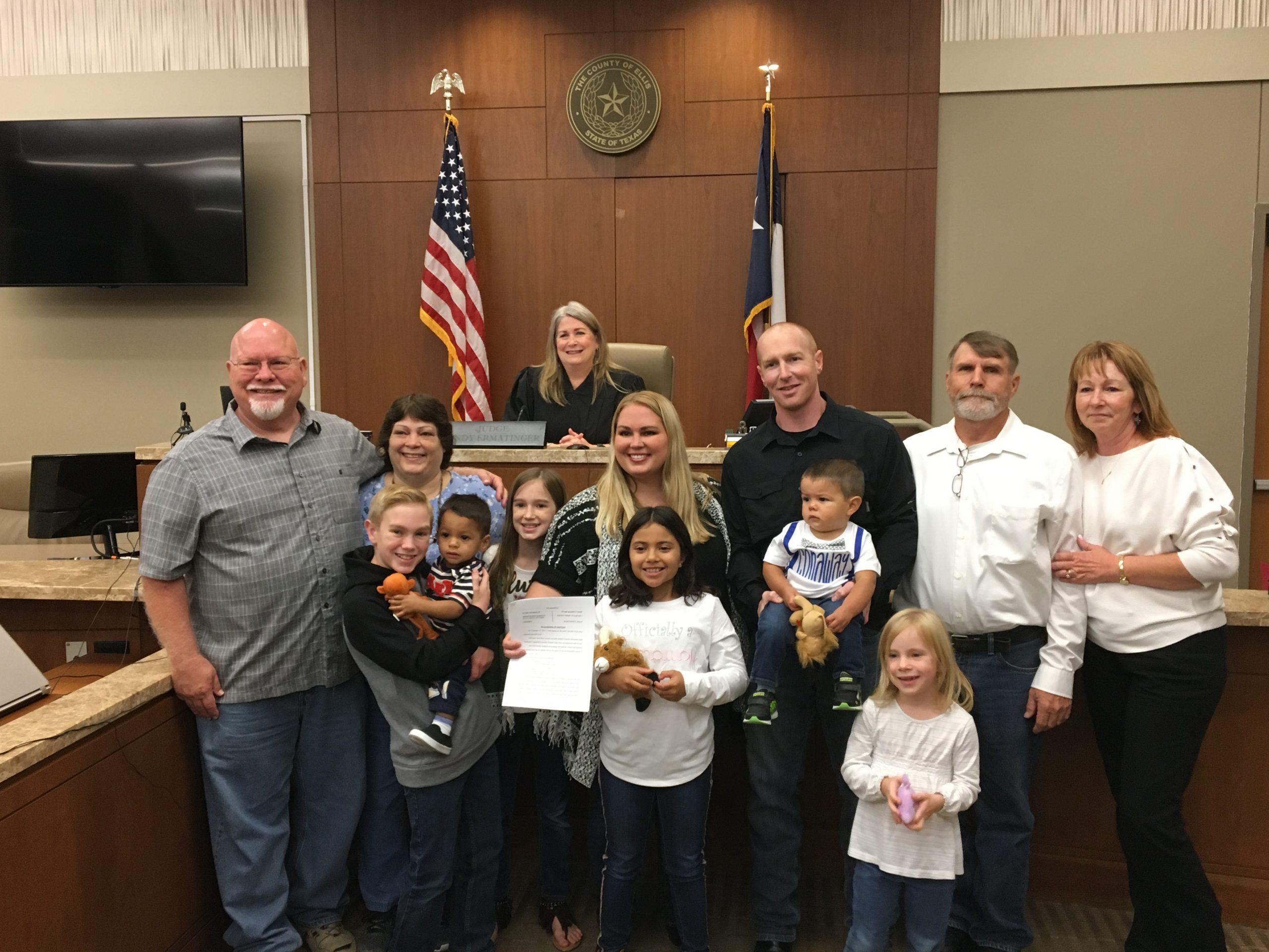 The Conaway Eight-Foster Care and Adoption Story